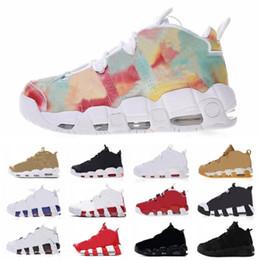 2020 96 QS Olimpico Varsity Maroon sup Pattini di pallacanestro del Mens per 3M Scottie Pippen uptempo Athletic Shoes Sport Sneaker formato 8 13