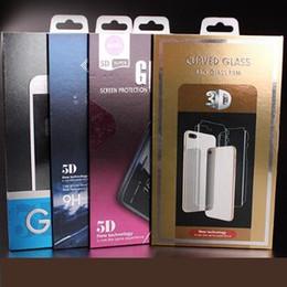 Emballage de paquet de vente au détail frontalière Emballage pour le protecteur d'écran en verre trempé 9H pour la conception OEM pour iphone XR XS MAX X 8 Plus ? partir de fabricateur