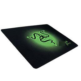 Almohadilla de refrigeración pc cooler online-PC mouse mat pad Razer 300X250X2mm Hombres Mujeres Cool Gaming Speed Versión Mousepad Para Lol CS