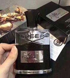 Горячая продажа Оптовая Creed Aventus 120 мл EVA DE духи с длительным временем автомобиля аромат для мужчин Кельн бесплатная доставка от