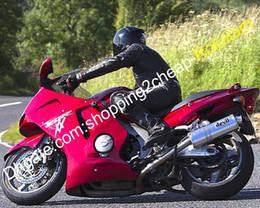 Partes de honda cuerpo online-Moto Fit Para Honda CBR1100XX Blackbird CBR 1100 XX CBRXX kit de carenado Parts 1996-2007 Red ABS del cuerpo de trabajo de la motocicleta (moldeo por inyección)