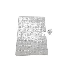 Papel blanco tamaño a4 online-Rompecabezas de papel en blanco para DIY Impresión por transferencia de calor papeles de rompecabezas tamaño A4 para niños DIY Transferencia Térmica Blanca Pearlescent