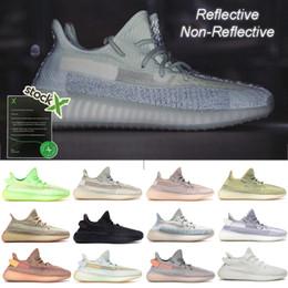 Обувь для девочек онлайн-Обувь Женщины Мужчины Кроссовки Дизайнерские кроссовки Citrin Cloud White Светоотражающие Glow Synth Lundmark Antlia Kanye West Sport Runner Fashion