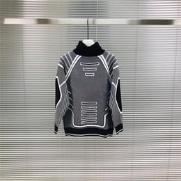Algodão revestido on-line-NOVO Mens designer camisola moda hip hop estilo gola alta lapela mulheres 100% suéter de lã de algodão de luxo Casaco Casuais