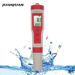Canada Testeur d'eau numérique professionnel Ph / tds / ec / température mètre 4 en 1 Kit de testeur de moniteur de qualité de l'eau pour les piscines d'eau potable T8190619 supplier quality tds meter Offre