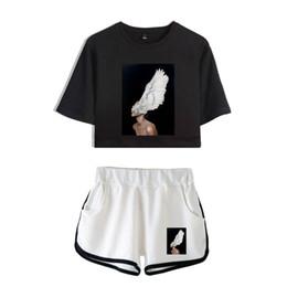 Super elástico macio on-line-Estética New Shorts Mulheres Casuais Super shorts Outerwear Femme Contraste Verão Macio Cintura Elástica