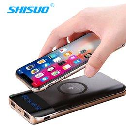 Nouveau numérique Qi charge sans fil d'alimentation mobile universel 10000 mA polymère chargeur de téléphone portable sans fil ? partir de fabricateur