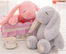 Venda de brinquedos de páscoa on-line-Venda quente de páscoa coelhinho de pelúcia coelho de brinquedo de pelúcia bonito do bebê meninos meninas toys presentes do bebê bonito transporte rápido