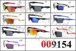 mirrors for bikes Promo Codes - Factory Price New UV400 Cycling Glasses Bike Eyewear Sports Sunglasses 9154 Bicycle For Riding Fishing 10 PCS Cycling Eyewear Oculos