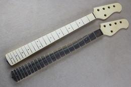 Livraison gratuite usine gros 5 cordes guitare électrique cou manche, touche en érable / palissandre, 21 frettes, offrant des services personnalisés ? partir de fabricateur