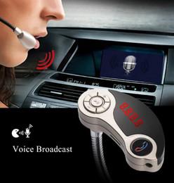 2019 dongle bluetooth smart tv GT86 Bluetooth V2.1 Dual USB Автомобильное зарядное устройство MP3-плеер Беспроводной FM-передатчик с модным компактным портативным дизайном Бесплатная доставка