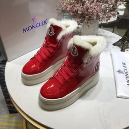 2019 tissu d'impression léopard blanc Designer Chaussures Femmes Bottes De Mode Designer De Luxe Femmes Chaussures De Luxe Chaussure 2018 Marque De Mode Designer De Luxe Wome Chaussures Femmes Bottes D'hiver