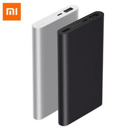 10000mAh Xiaomi Mi Power Bank 2i Banco de baterías externo 18W Carga rápida Powerbank 10000 PLM09ZM con salida USB dual para teléfono desde fabricantes