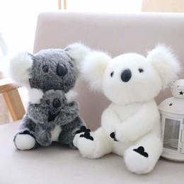 muñeca de dibujos animados de doraemon Rebajas 18cm nueva llegada de Super pequeño linda del oso de koala juguetes de peluche aventura koala muñeca cumpleaños de la Navidad PT024 regalo