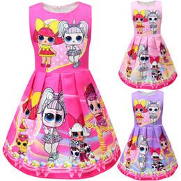 Кукольный жилет онлайн-Куклы для новорожденных девочек жилет платье детей без рукавов принцесса платья мультфильм 2019 модный бутик детской одежды 11 цветов C6514