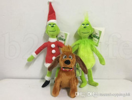 Mükemmel Discout şimdi Film Grinch Peluş Oyuncak 18-40 cm Nasıl Noel Grinch Grinch Çaldı Köpek Peluş Bebek Oyuncak Yumuşak Dolması Oyuncaklar nereden