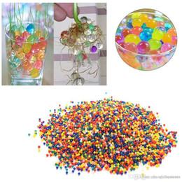 2019 crianças quebra-cabeça do relógio httoy 1000pcs bolas de água de cristal pérolas Jelly Gel grânulo por Orbeez Toy Refill Cor GG