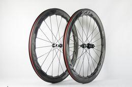 Deutschland D12 Zipp 454 60mm 808 80mm Dimple Zum Verkauf Full Carbon Rennrad Radsatz 700C Fahrradräder glänzend matt A01 Versorgung