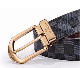 Nova alta qualidade de moda cinto de luxo homens e mulheres cinto de largura cinto de designer de 3,3 cm de dupla face disponível. de Fornecedores de vestidos bonitos do preppy