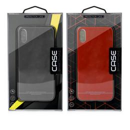 Casse di carta dei casi di telefoni cellulari online-Scatola del pacchetto di vendita al dettaglio universale per iphone XS MAX XR X 6S 7 8 plus cassa del telefono cellulare scatola di carta di carta copertina del telefono per Samsung S8 S9 PLUS