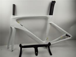 bicicleta de fibra de carbono preta fosca Desconto 2019 Venda quente disco de freio de fibra de carbono quadro de quadro de bicicleta de estrada Di2 cabo de deslocamento interno através do eixo 100 * 12 142 * 12mm 2 ano de garantia