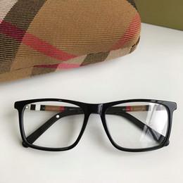 Newarrival Quality BE2283 prägnante rechteckige Unisex-Brille Rahmen 54-17-140 karierten Designer für Brillen pur-Plank fullset Fall von Fabrikanten