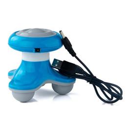 Deutschland Mini Elektrische Behandelte Welle Vibrationsmassagegerät massage vibratoren Rückenmassagegerät USB wiederaufladbare Ganzkörpermassage Mit Kleinpaket von DHL Versorgung