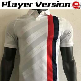 2019 camisetas de neymar 2020 Player version Paris third # 7 MBAPPE # 18 ICARDI Soccer Jerseys 19/20 Men # 10 NEYMAR JR white Camisetas de fútbol Uniformes de fútbol camisetas de neymar baratos