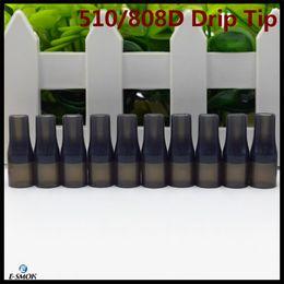 goon lp goutte à goutte Promotion 2019 Drip Tip jetable 510 et 808D Embout buccal pour test de silicone pour embout buccal pour réservoir de cigarette E de 9mm