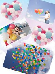 50 pçs / lote Branco Lâmpadas Levou Luzes Balão Levou Balão de Luz Para O Casamento Decoração Festa de Aniversário Produto Evento Fontes Do Partido crianças brinquedos de