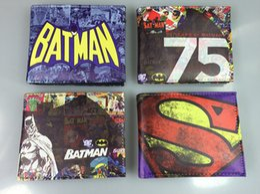 2019 carteira dos comics do dc DC Comics Super-Herói Superman Superman Batman Batman Carteira Carteira Clown carteira dos comics do dc barato