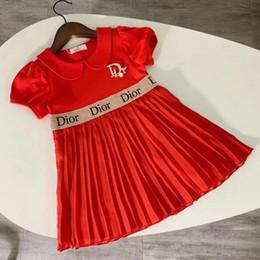 anos vestido de modelo bebê bebê Desconto chegam novas crianças crianças roupas curtas meninas Top manga plissado meninas tule macio tutu vestidos