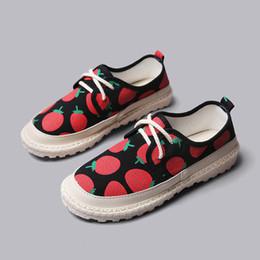 Eleganti scarpe di tela online-Estate Flats Donna Scarpe moda Mocassini Elegante Tacchi Bassi Slip On Calzature Donna Punta tonda Colori misti Scarpe casual in tela