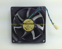 SUNON PMD1209PLB1-A U7581 12V 7.8W 9032 9CM 4-wire axial cooling fan