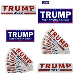 impressão de adesivo de vinil Desconto Novo 10 pçs / lote 2020 nos eleição presidencial Donald trump Adesivo para carro etiqueta do trump adesivo T2I5033