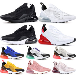 cd5709cf591 2019 running shoes Triple Black white barely rose University Red black dot  Grape Tiger mens womens sports sneaker trainers shoes size 36-45 gucci shoes  on ...