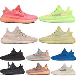 Adidas Yeezy Boost 350 V2 Yeezy 350 Boost 350 ANTLIA Lundmark Glow Pink Reflexión estática TRFRM mujer para hombre zapatillas de deporte de diseño deportivas desde fabricantes