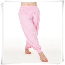 Yoga Pantolon Modal Pamuk Lady Yumuşak Yoga Spor Dans Harem Pantolon Oryantal Dans Yaga Geniş Pantolon Pantolon Sıcak Satış nereden