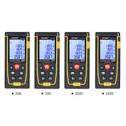 Télémètre laser numérique de poche 50M 70M 100M 120M Télémètre Mini Range Finder Construire Mesurer Dispositif Règle Test Outil ? partir de fabricateur