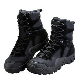 botas de camuflaje táctico Rebajas 2019 nuevos zapatos de baloncesto SOLDADO GRATUITO para acampar al aire libre zapatos militares de camuflaje combate de caza botas de caza