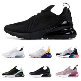 finest selection 8290a bc7ba Nike Air Max 270 Wholesale 270 Scarpe da corsa Uomo Donna Triple Nero  Bianco Filippine Be True Marrone Tigre Viola rosso Mens Trainer Sport  Sneakers Taglia ...