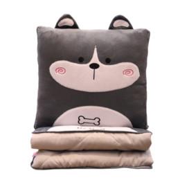 honda fit carbono Desconto Travesseiro dos desenhos animados Colcha Multifuncional Escritório Car Dual Purpose Pillow