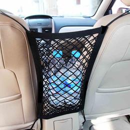 Deutschland Qualitäts-Auto-LKW-Lagerung Gepäck Haken hängend Organisator-Halter-Auto-Elastic-Sitzbeutel Ineinander greifen-Netz-Speicher-Beutel-Auto-Telefon-Halter Versorgung