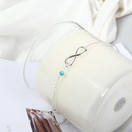 Lovely Girl cristal cheville Couleur du bracelet Argent Mailles Chaîne de cheville Sexy Pieds nus Bijoux Femmes Pied Bracelet Amitié Cadeau ? partir de fabricateur