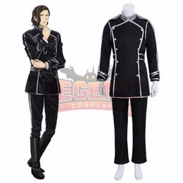 2019 lenda cheia Cosplaylegend Anime Lenda dos Heróis Galáticos Reinhard von Lohengramm traje cosplay custom made conjunto completo desconto lenda cheia