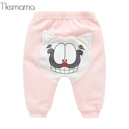 2020 polainas del bebé recién nacido Pink Lovely Style Baby Girl Baby Leggings Newborn Boy Pants Girl Leggings Niños Pantalones polainas del bebé recién nacido baratos