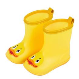 2019 mode loisirs printemps été vente chaude nourrisson enfants enfants bébé bande dessinée canard en caoutchouc canard imperméable bottes chaudes chaussures de pluie ? partir de fabricateur