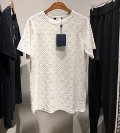 2019 Италия новая высококачественная мужская высококачественная бархатная футболка класса люкс США РАЗМЕРЫ для мужчин, удобная и мягкая футболка ZDL 19891. от