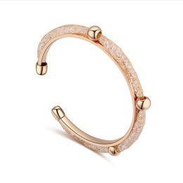 echte goldarmbänder Rabatt Modevision Trendy Mesh-Armreifen mit echt vergoldetem Kristallseil Armreif Modell-Nr. NE956-2