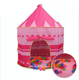 Play Tent Baby Ball Pool Tipi Tent for Kid Pink Blue Tent Children Jugar House Toy Carpas Easy Babysitter desde fabricantes